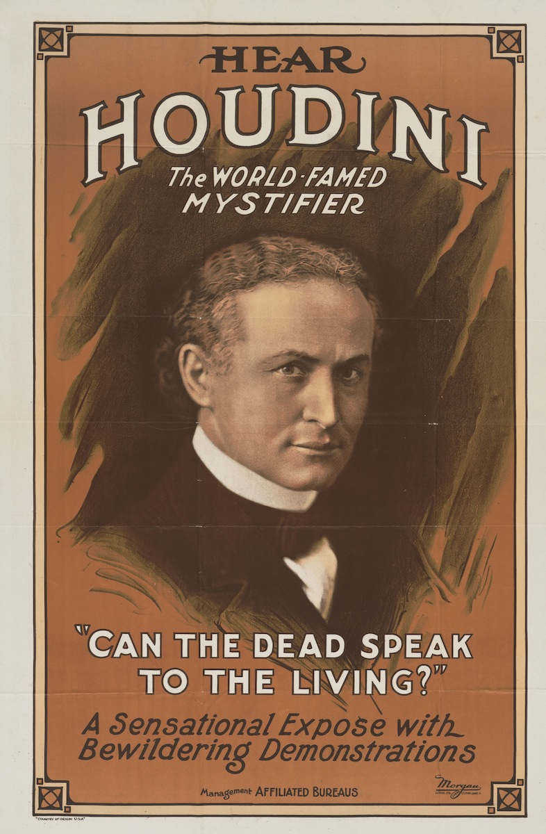 harry houdini By joan higbee last fall, 70 years after the death of harry houdini, the library of congress released a home page devoted to the legendary magician as part of its american memory online collections here, more than 140 high-resolution graphics and documents, derived from primary source materials in multiple library.
