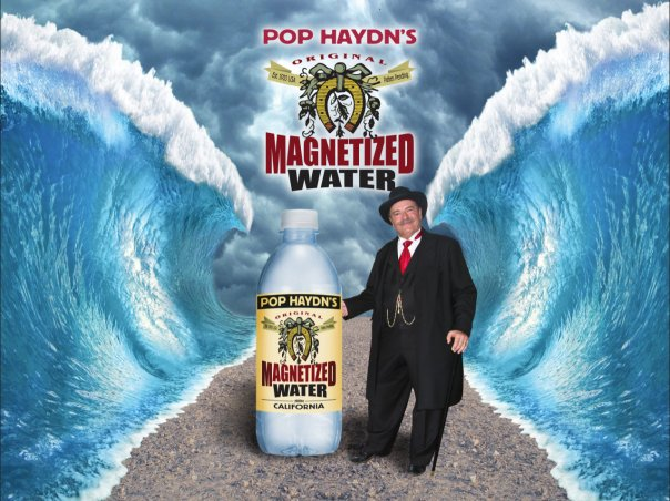 Pop Haydn's Original Magnetized Water from California