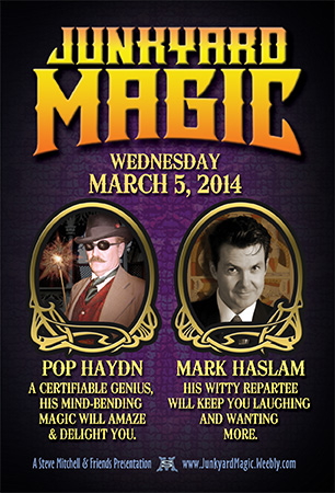 Junkyard Magic MAR 5