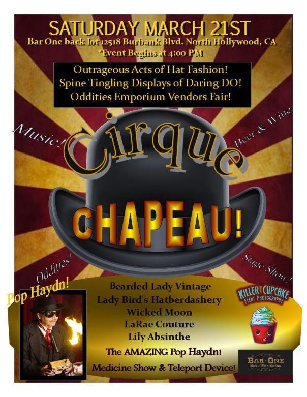 Cirque Chapeau Flier 2015