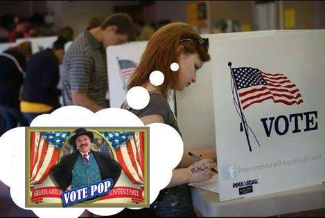 Vote Pop Booth