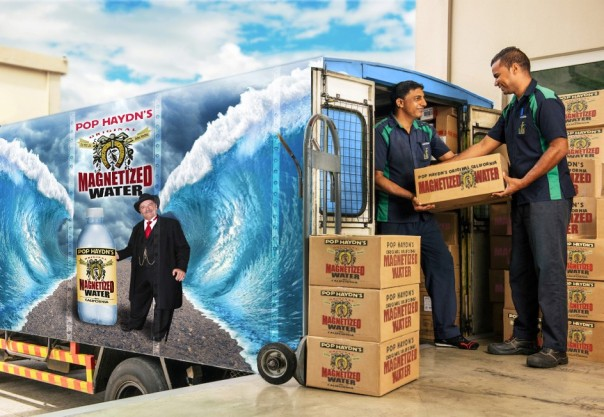 Magnetized Water Truck