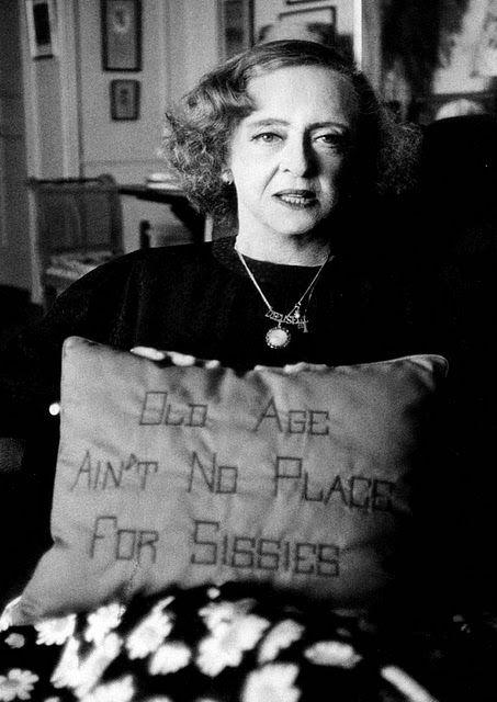 Bette Davis Old Age